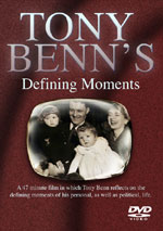 Tony Benn's Defining Moments DVD cover